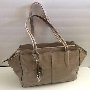 Tumi leather shoulder/tote bag large and roomy